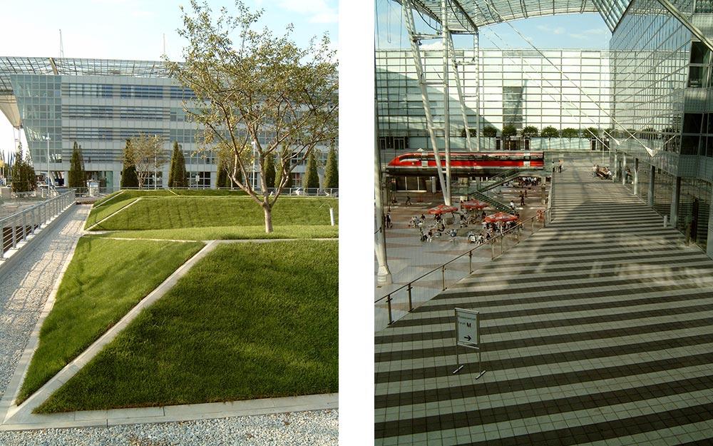 Landschaftsarchitektur München landschaftsarchitekt flughafen münchen terminal 2